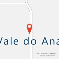 Mapa com localização da Agência AC VALE DO ANARY