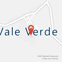 Mapa com localização da Agência AC VALE VERDE