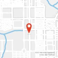 Mapa com localização da Agência AC VIA PALMAS BRASIL