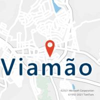 Mapa com localização da Agência AC VIAMAO