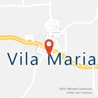 Mapa com localização da Agência AC VILA MARIA
