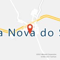 Mapa com localização da Agência AC VILA NOVA DO SUL