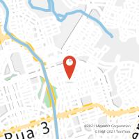 Mapa com localização da Agência AC VILA NOVA