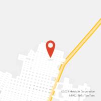 Mapa com localização da Agência AC XINGUARA