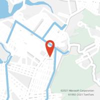 Mapa com localização da Agência AC ZONA NOROESTE