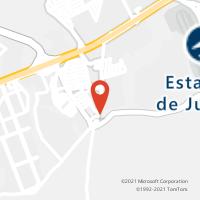 Mapa com localização da Agência ACC ELOY CHAVES
