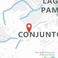Mapa com localização da Agência ACC JULITA