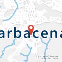 Mapa com localização da Agência ACC REILAR
