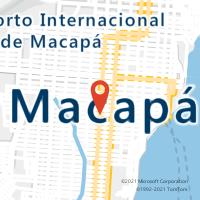 Mapa com localização da Agência ACC SHOPPING MACAPA