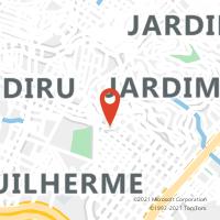 Mapa com localização da Agência ACC VILA INDUSTRIAL