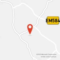 Mapa com localização da Loja CTTACHETE