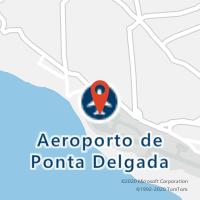 Mapa com localização da Loja CTTAEROPORTO DE PONTA DELGADA