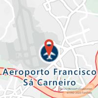 Mapa com localização da Loja CTTAEROPORTO DO PORTO