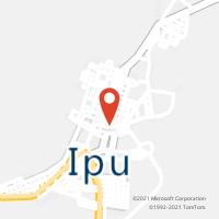 Mapa com localização da Agência AGC ABILIO MARTINS