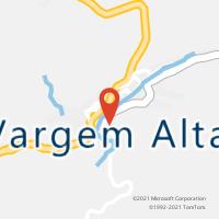 Mapa com localização da Agência AGC ALTO CASTELINHO