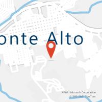 Mapa com localização da Agência AGC APARECIDA DO MONTE ALTO