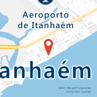 Mapa com localização da Agência AGC BALNEARIO GAIVOTA