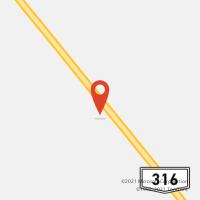 Mapa com localização da Agência AGC CAMPINHOS