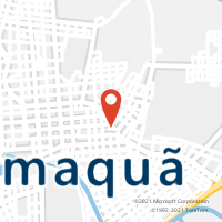 Mapa com localização da Agência AGC CAPELA SANTO ANTONIO