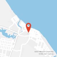 Mapa com localização da Agência AGC CAPONGA