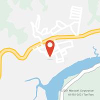 Mapa com localização da Agência AGC CARUARA