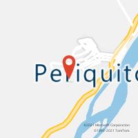 Mapa com localização da Agência AGC CENTRO DE PERIQUITO