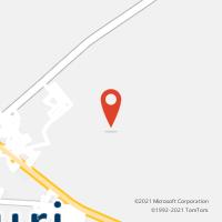Mapa com localização da Agência AGC COHAB