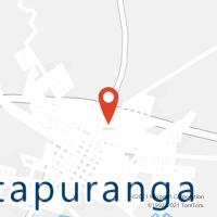 Mapa com localização da Agência AGC DIOLANDIA