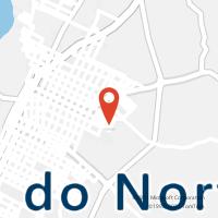 Mapa com localização da Agência AGC ESPINHO