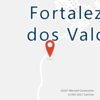 Mapa com localização da Agência AGC FAZENDA COLORADO
