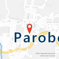 Mapa com localização da Agência AGC FAZENDA PIRES