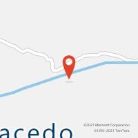 Mapa com localização da Agência AGC FRANCISCO MACEDO