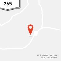 Mapa com localização da Agência AGC FREI EUSTAQUIO