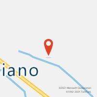 Mapa com localização da Agência AGC GEMINIANO
