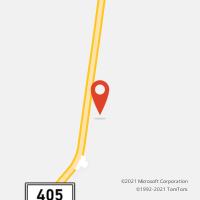 Mapa com localização da Agência AGC MAJOR FELIPE