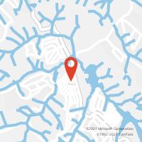 Mapa com localização da Agência AGC MARACANA