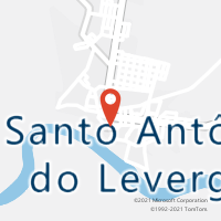 Mapa com localização da Agência AGC MIMOSO