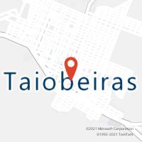 Mapa com localização da Agência AGC MIRANDOPOLIS