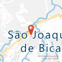 Mapa com localização da Agência AGC NOSSA SENHORA DA PAZ