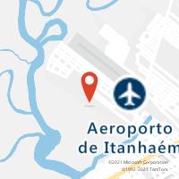 Mapa com localização da Agência AGC OASIS