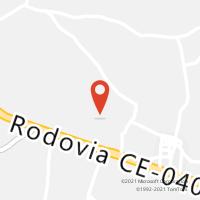 Mapa com localização da Agência AGC PARIPUEIRA