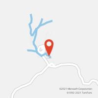 Mapa com localização da Agência AGC PLANALTO DE MINAS