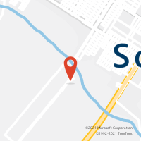 Mapa com localização da Agência AGC ROTA DO SOL