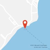 Mapa com localização da Agência AGC SAI