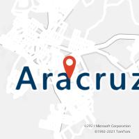 Mapa com localização da Agência AGC SANTA CRUZ