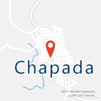 Mapa com localização da Agência AGC SANTANA CHAPADA