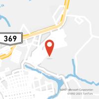 Mapa com localização da Agência AGC SAO DOMINGOS/APUCARANA