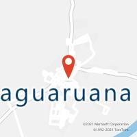 Mapa com localização da Agência AGC SAO JOSE DO LAGAMAR