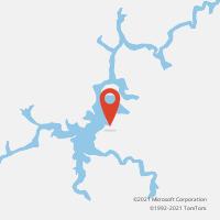 Mapa com localização da Agência AGC SAO MIGUEL QUIXERAMOBIM