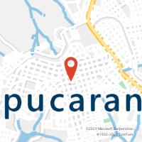Mapa com localização da Agência AGC SAO PEDRO DA TAQUARA